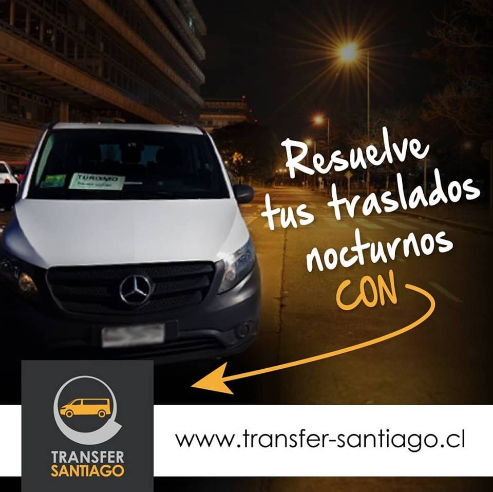 Transfer Santiago - Banner advertising
