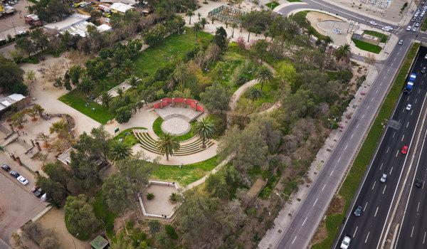 View Parque Violet Parra Lo Espejo, Chile