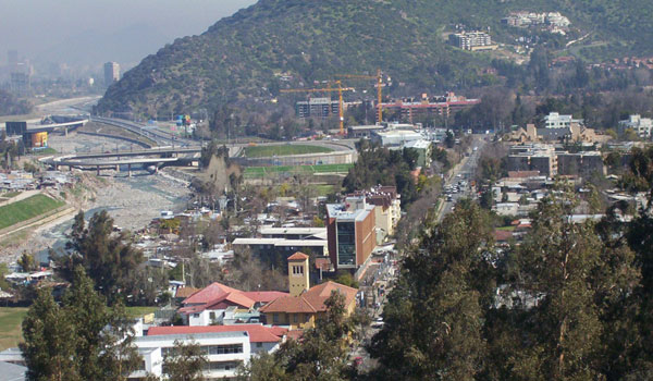 View Lo Barnechea Santiago Chile