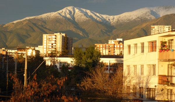 Vista Comuna de Ñuñoa Chile