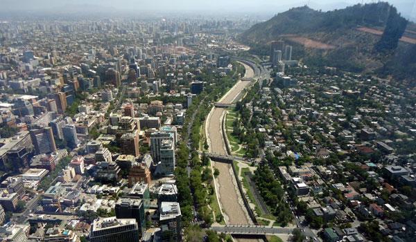 Vista Providencia Santiago Chile