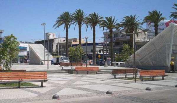 Vista Plaza de Puente Alto Chili
