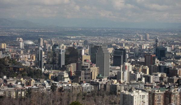 Vista Comuna de Santiago Chile