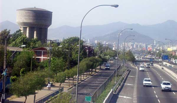 Vista Comuna от Педро Агирре Серда, Сантьяго, Чили