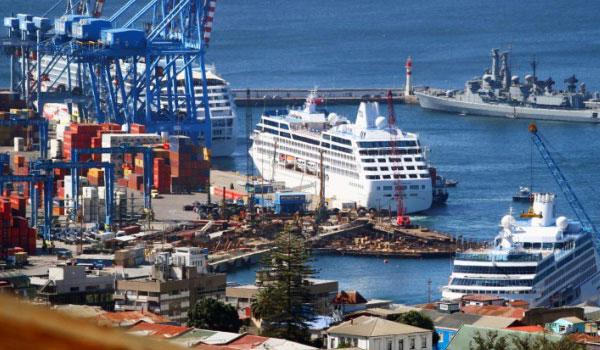 Visualizza Puerto de Valparaíso, Cile