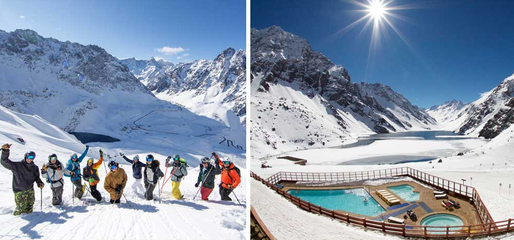 Circuit des stations de ski: Portillo