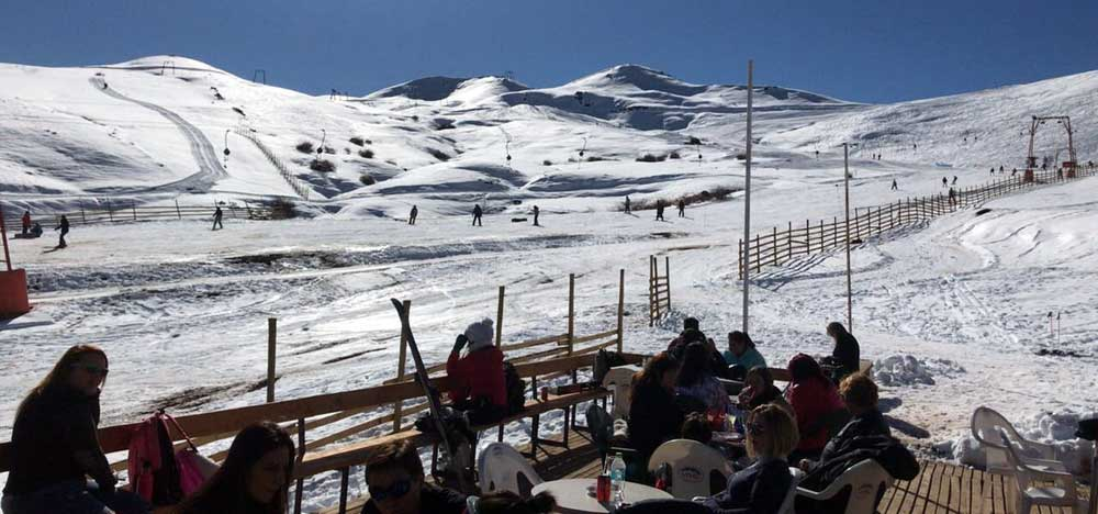Tour ski centers. Lagunillas Chile
