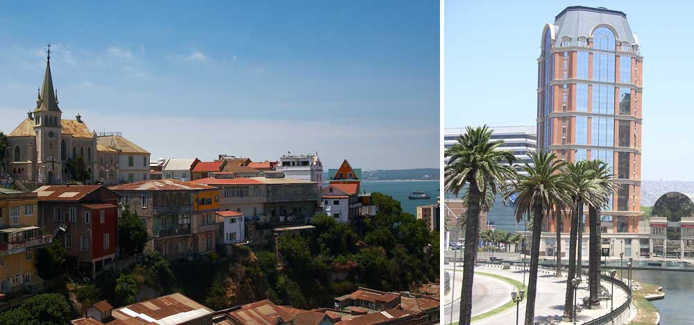 Tour cities Valparaíso and Viña del Mar
