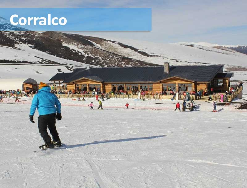 Corralco Ski Center Chili