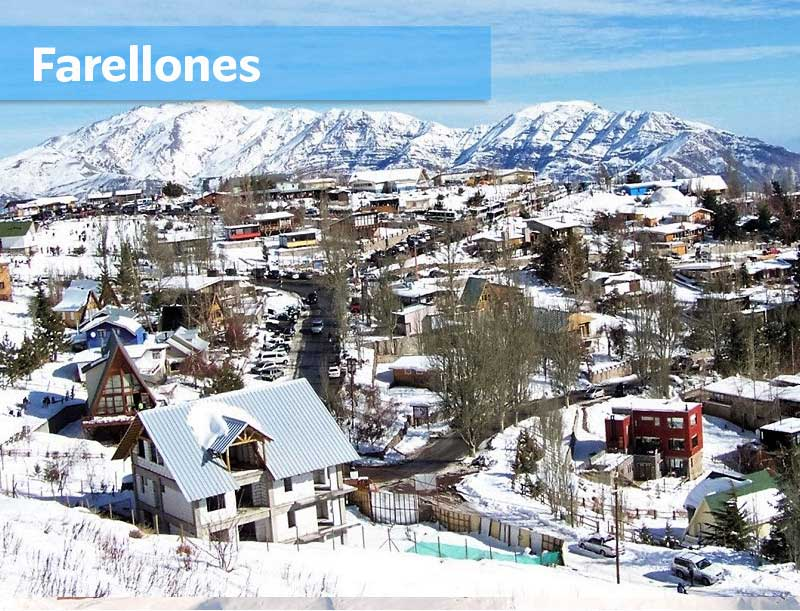 滑雪中心Farellones