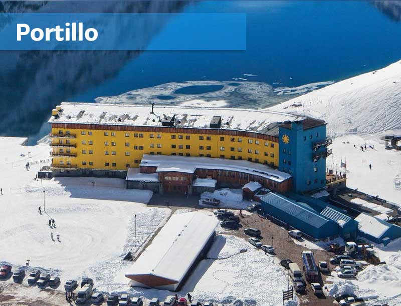 Portillo Ski Center Chile