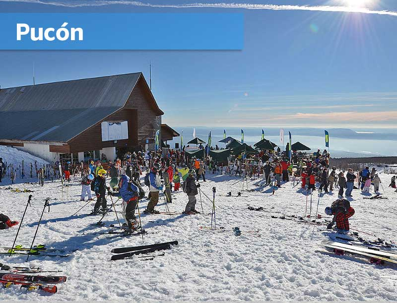 Pucón Ski Center Chile