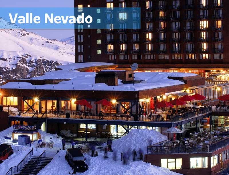 Valle Nevado Ski Center